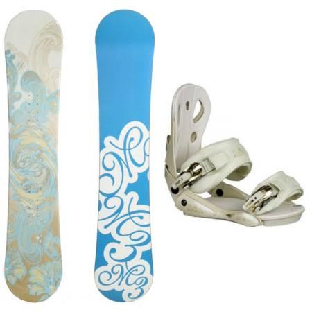 Photo New Millennium M3 153cm Womens Snowboard w Roxy Eminence bindings - $250