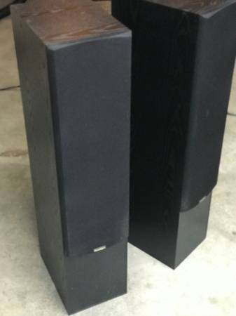 Photo Paradigm Esprit v.3 tower speakers (pr) - $250 (SW Oak Creek Dr. (PDX))