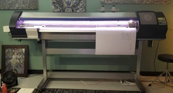 Photo Roland SP-540V Printer  Cutter - $5,900 (Milwaukee)