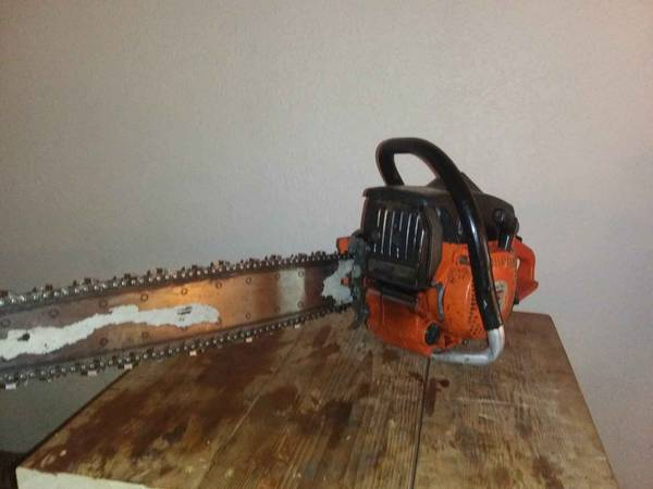 Photo Sachs Dolmar 120 Super chainsaw runs great - $190 (SW pdx)