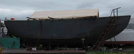 Photo Steel hull shell - 40 ft sailboat - $12,000 (Scappoose)