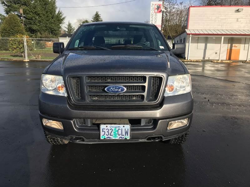 Photo Used 2004 Ford F150 4x4 SuperCab FX4 for sale