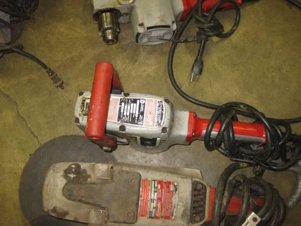 Photo Used Power Tools Pneumatic Chainsaw Milwaukee DeWalt Thor Black  Dec (SE Portland)