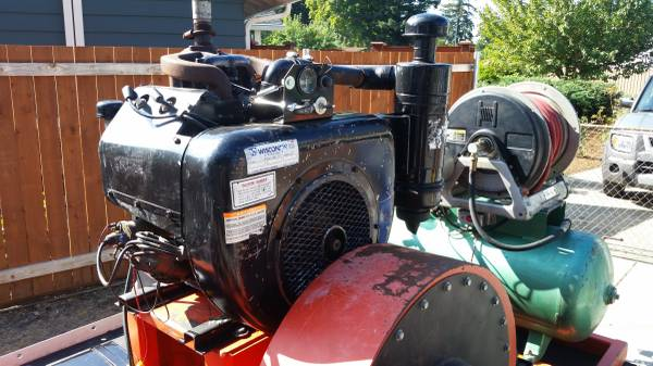 Photo Wisconsin VH4D engine - $2,000 (Vancouver)