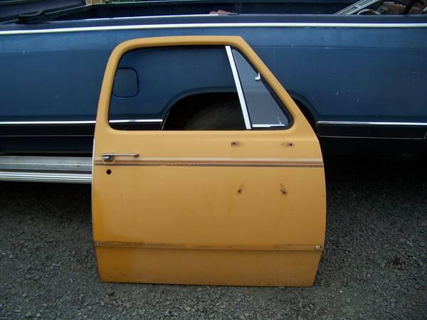 Photo nice 1975 dodge power wagon RH door with glass 1972-1979 - $200 (wash co)