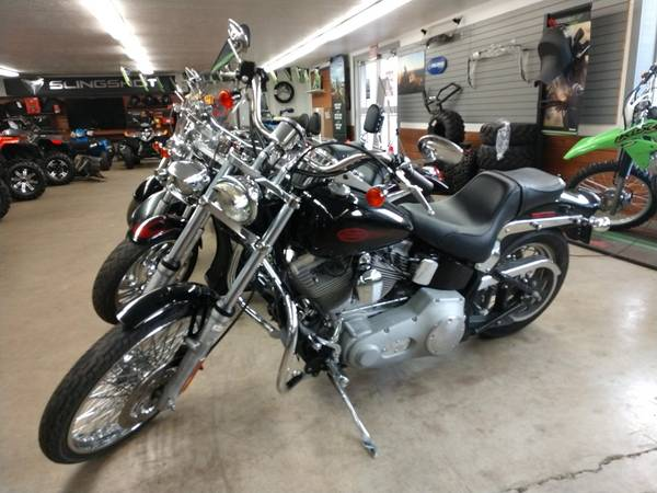 Photo 2004 Harley Davidson Soft Tail - Accessories - Great Shape - $5,999 (Homer)