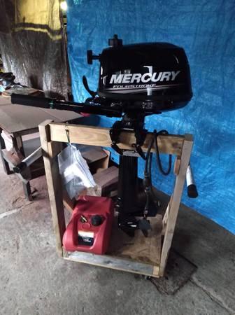 Photo Almost brand new 6horse mercury four stroke motor - $1,650 (Bombay)