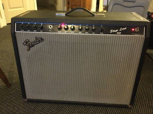 Photo Fender Stage Lead 212 Guitar Amplifier - $250 (Winooski)