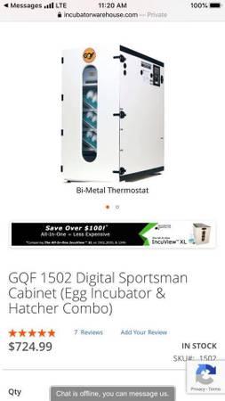 Photo GQF 1502 Incubator