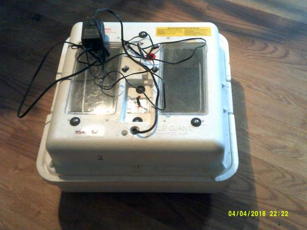 Photo Incubator and Turner - $60 (Massena)