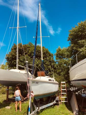 Photo Oday 22 Sailboat - $3,500 (Randolph)