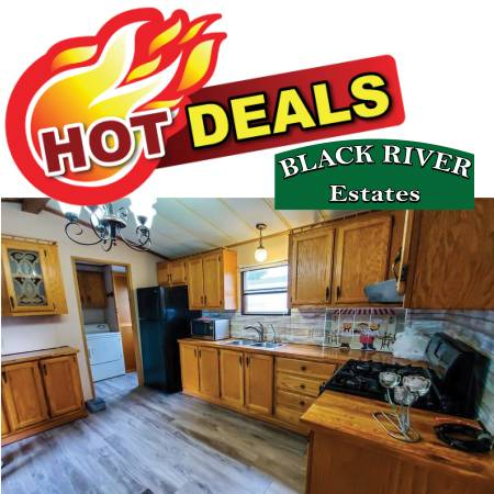 Photo RED HOT BARGAIN ALERT $1,500 off list price Mint Condition 2-Bdrm (Black River)