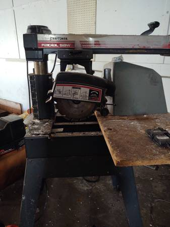 Photo Radial saw 10quot Sears Craftsman - $100 (LIVERPOOL)
