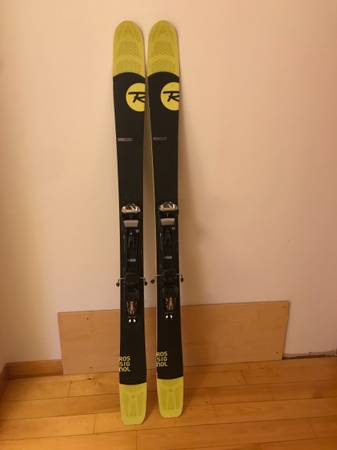 Photo Rossignol Soul 7, 172 with Marker Baron AT Bindings and G3 skin - $475 (North Hyde Park, VT)