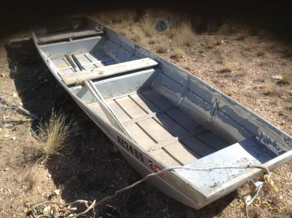 Photo 14 ft. aluminum boat - $275 (paulden)
