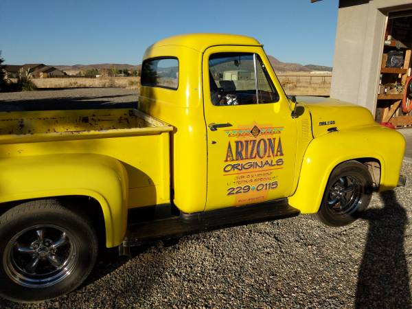 Photo 1954 Ford F100 Pickup truck - $15,000 (Prescott Valley)