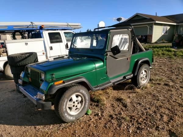 Photo 1988 Jeep Wrangler - $4500 (Chino Valley)