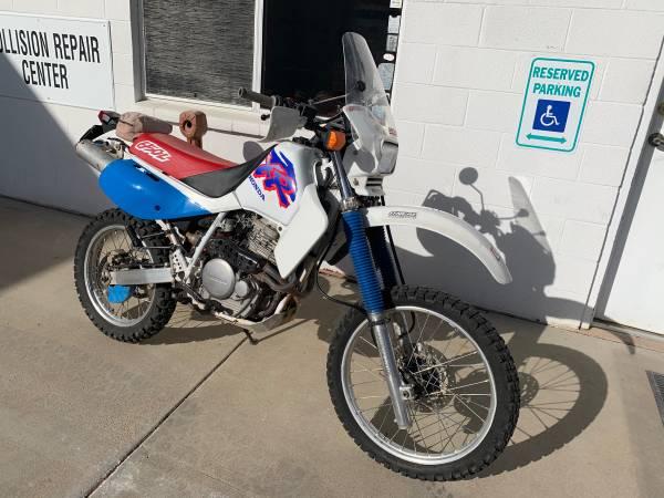 Photo 1993 Honda xr650L dual sport dirt bike - $2,100 (Prescott)
