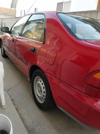 Photo 1995 Honda Civic DX - $1500 (Chino Valley)