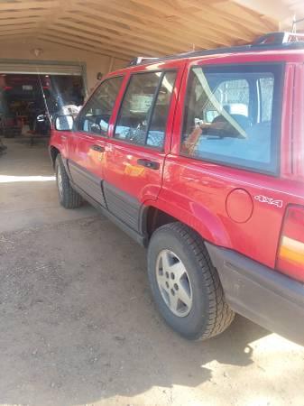 Photo 1995 Jeep Grand Cherokee 4x4 - $2600 (Prescott)