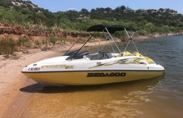 Photo 2000 Seadoo Speedster Jet Boat - $6,500 (Prescott)
