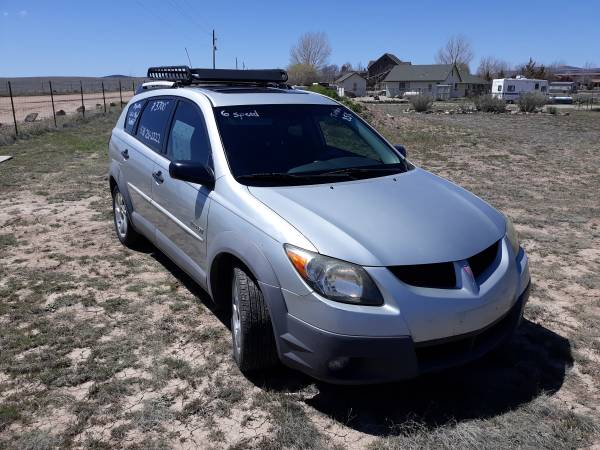 Photo 2003 Pontiac Vibe GT 6 speed - Like Matrix LOW MILES - $3700 (Chino Valley)