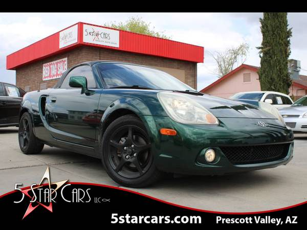 Photo 2003 Toyota MR2 - EXCEPTIONAL CONDITION LEATHER PKG SKAR AUDIO FUN - $11495