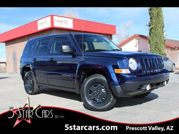 Photo 2015 Jeep Patriot - ONE OWNER LOCAL TRADE 4X4 LOW MILES CLEAN - $9995