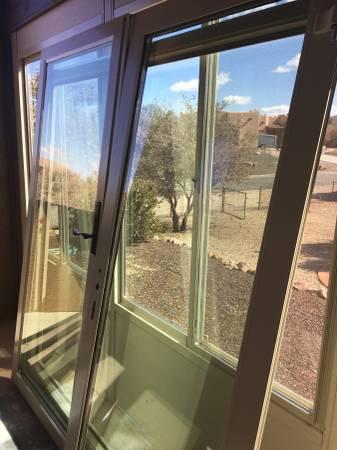 Photo 639 Double Doors Four Seasons Sunroom French Doors wFrame  Hardware - $700 (Prescott)