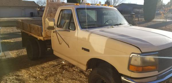 Photo 93 Ford Super Duty Dually Flatbed - $4,000 (PRESCOTT VALLEY)