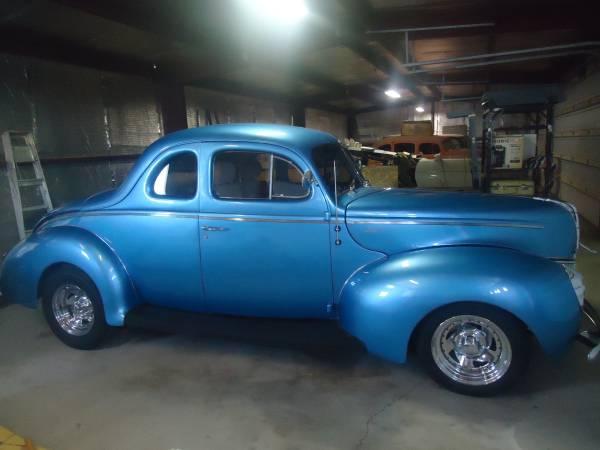Photo Beautifully restored 1940 Ford 2 door street rod - $40000 (PRESCOTT VALLEY)