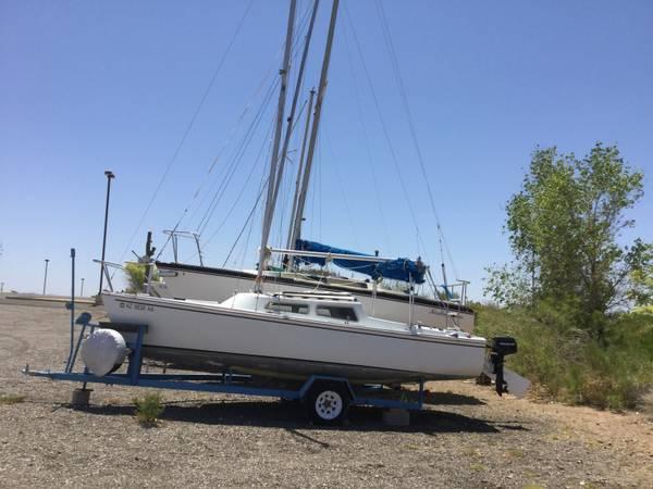 Photo Catalina 22 Sailboat Poptop Swing Keel Bimini - $3,295 (Scorpion Bay Marina)
