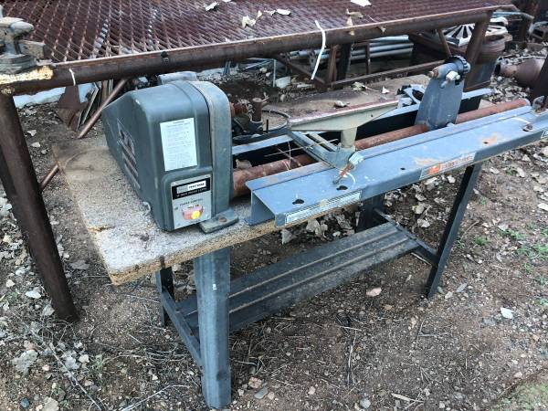 Photo Craftsman 12 in wood lathe with table. - $75 (Prescott Valley)