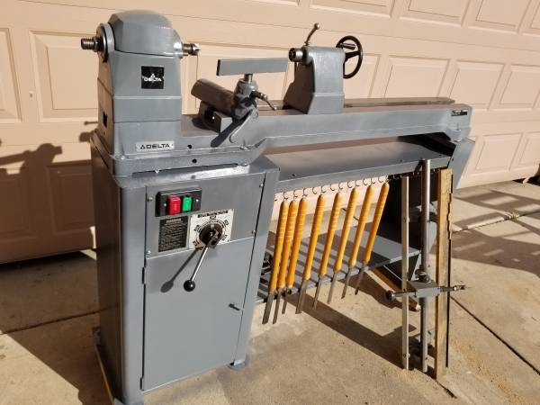 Photo DELTA VARIABLE SPEED LATHE with DUPLICATOR - $800 (32 ST AND E. CACTUS)