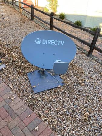 Photo Directv Dish for use at home or with your RV - $25 (Dewey)