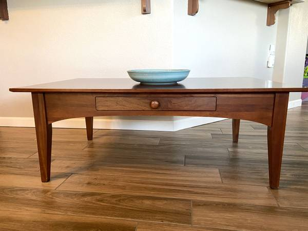 Photo Ethan Allen Coffee Table Solid Wood - $150 (Prescott Lakes)