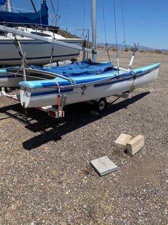 Photo HOBIE 18 CATAMARAN - $2,500 (Sailboat Shop Scorpion Bay Lake Pleasant,AZ)