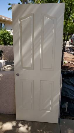 Photo Interior Door Slabs, 32quotW Discontinued 4-panel Design, 3 total - $20 (Prescott Valley)