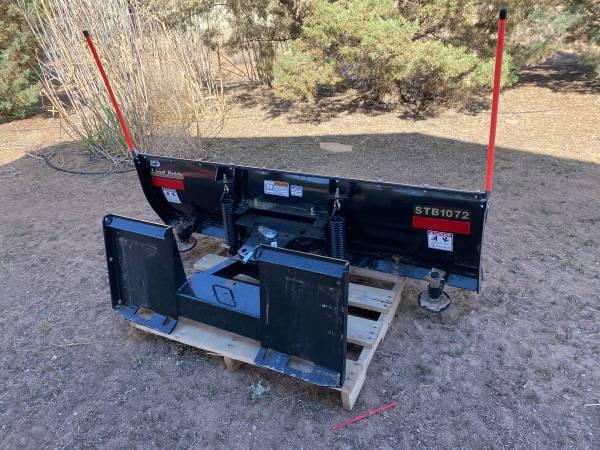 Photo Kubota Bush Hog and Snow plow tractor attachment. - $3,750 (Chino Valley)