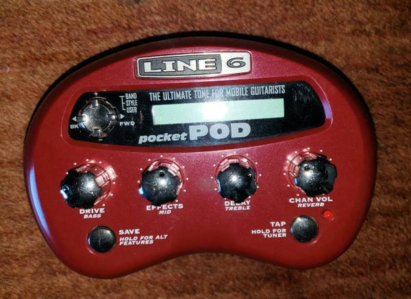 Photo Line 6 Pocket Pod - $30 (Prescott)