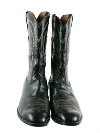 Photo Lucchese Classics Black Vintage Boots 13D - $225
