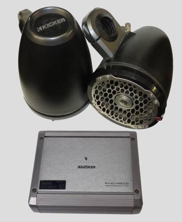 Photo MarineRV Sound System Kenwood, Rockford Fosgate, Kicker - $299 (Prescott AZ)
