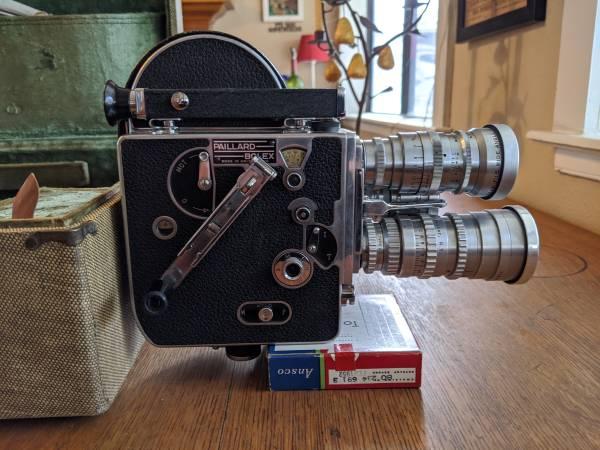 Photo Paillard Bolex 16mm - $1,250 (PRESCOTT)