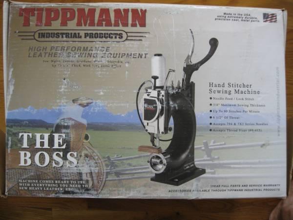 Photo TIPPMANN THE BOSS SEWING MACHINE - $925 (PRESCOTT AZ)