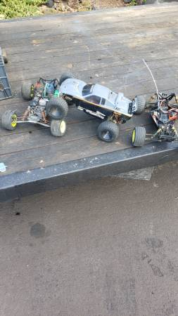 Photo Team Associated Losi RC and nitro car lot - $250