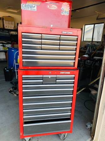 Photo Tool Chest  Craftsman - $500 (Prescott Valley - Viewpoint homes)