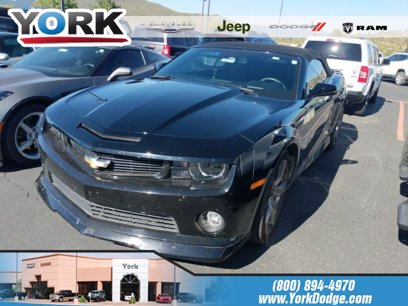 Photo Used 2012 Chevrolet Camaro SS Convertible w RS Package for sale