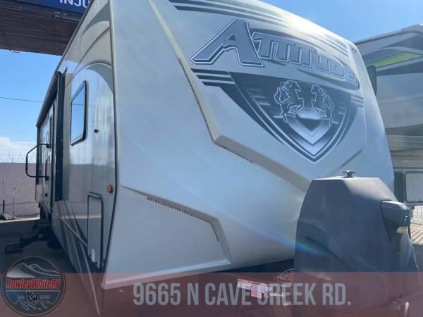 Photo Used 2020 Eclipse Attitude 32GSG Bumper Pull Toyhauler w 2 Slideouts - $54,900 (Pheonix)