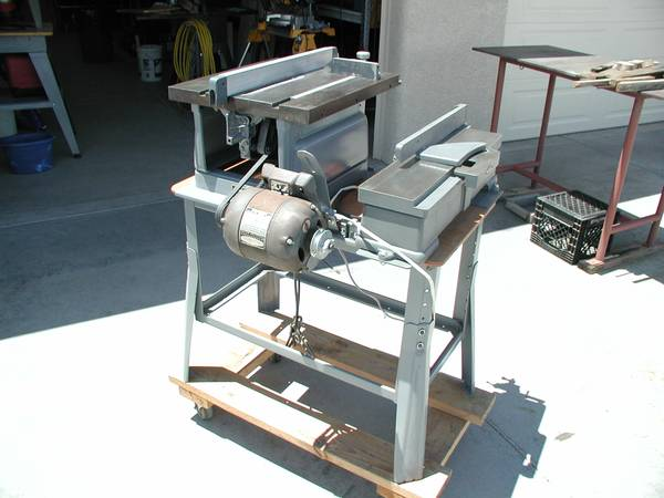 Photo Vintage Craftsman Table Saw and Jointer - $225 (Cornville)