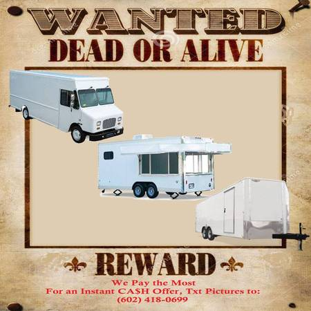 Photo WTB Enclosed Trailers Step Van Stepvan Parcel or Delivery Truck (Arizona)